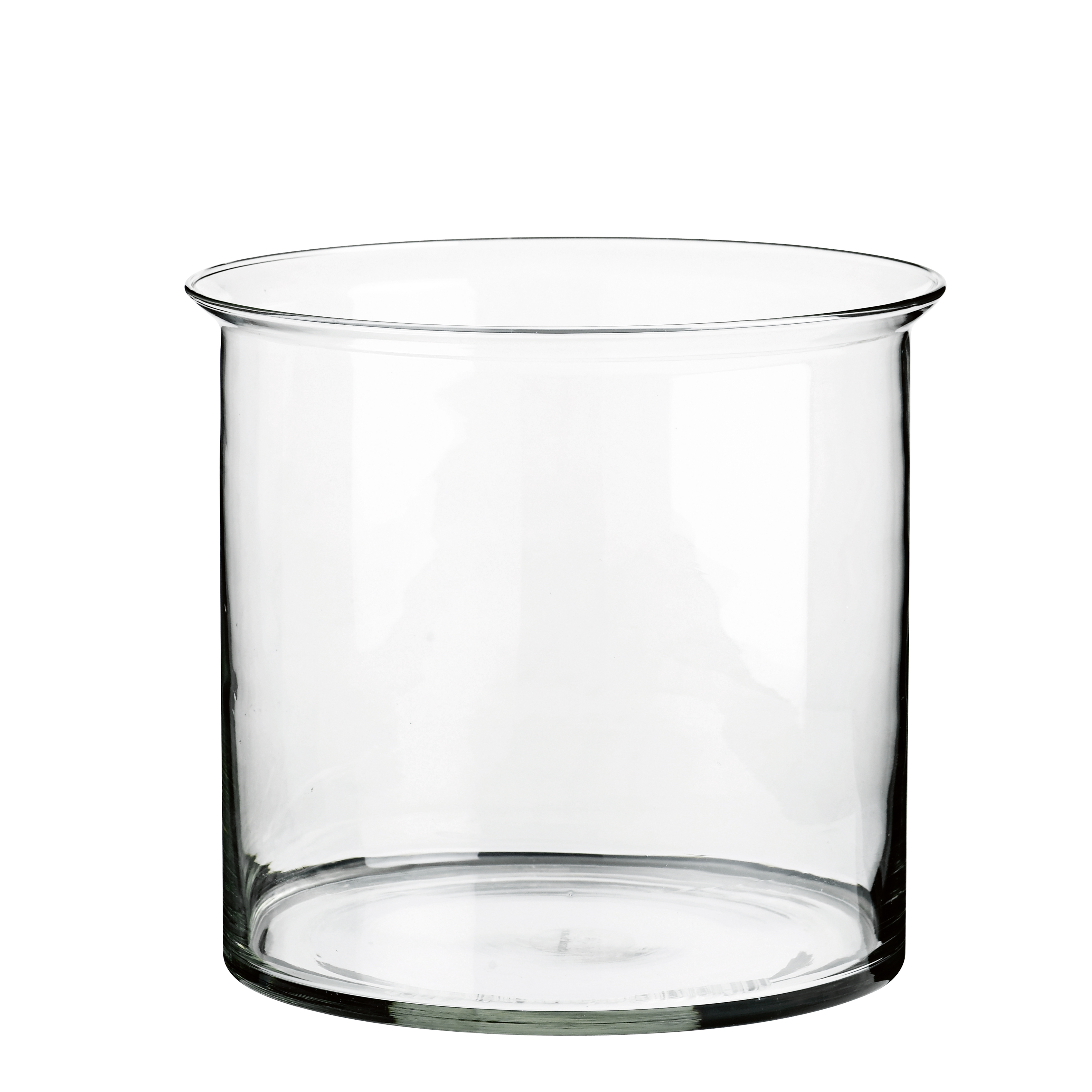 stor hurricane glas til stearinlys eller som glasvase. Black Bedroom Furniture Sets. Home Design Ideas