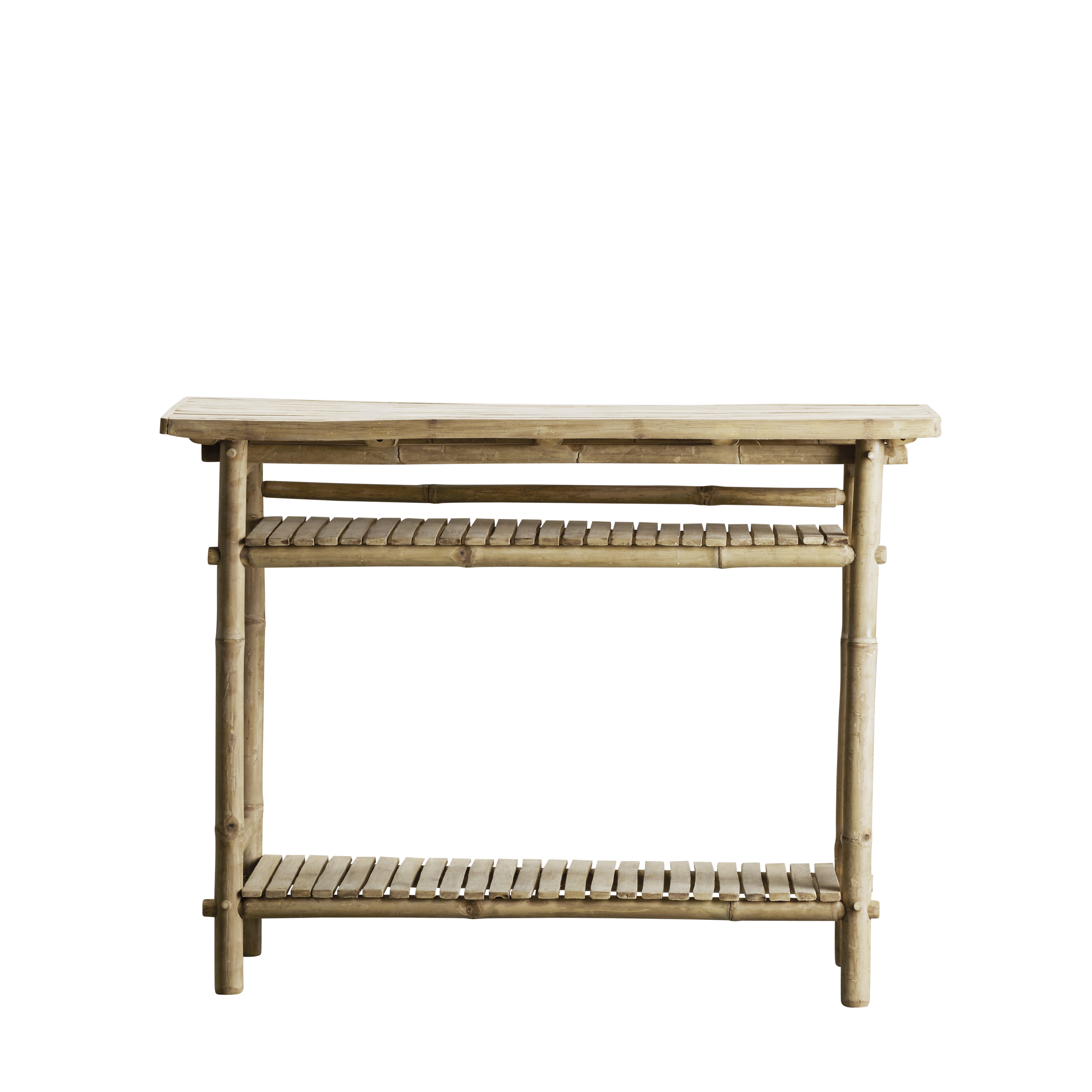 Bamboo Console Table 90x37xH76, Nature