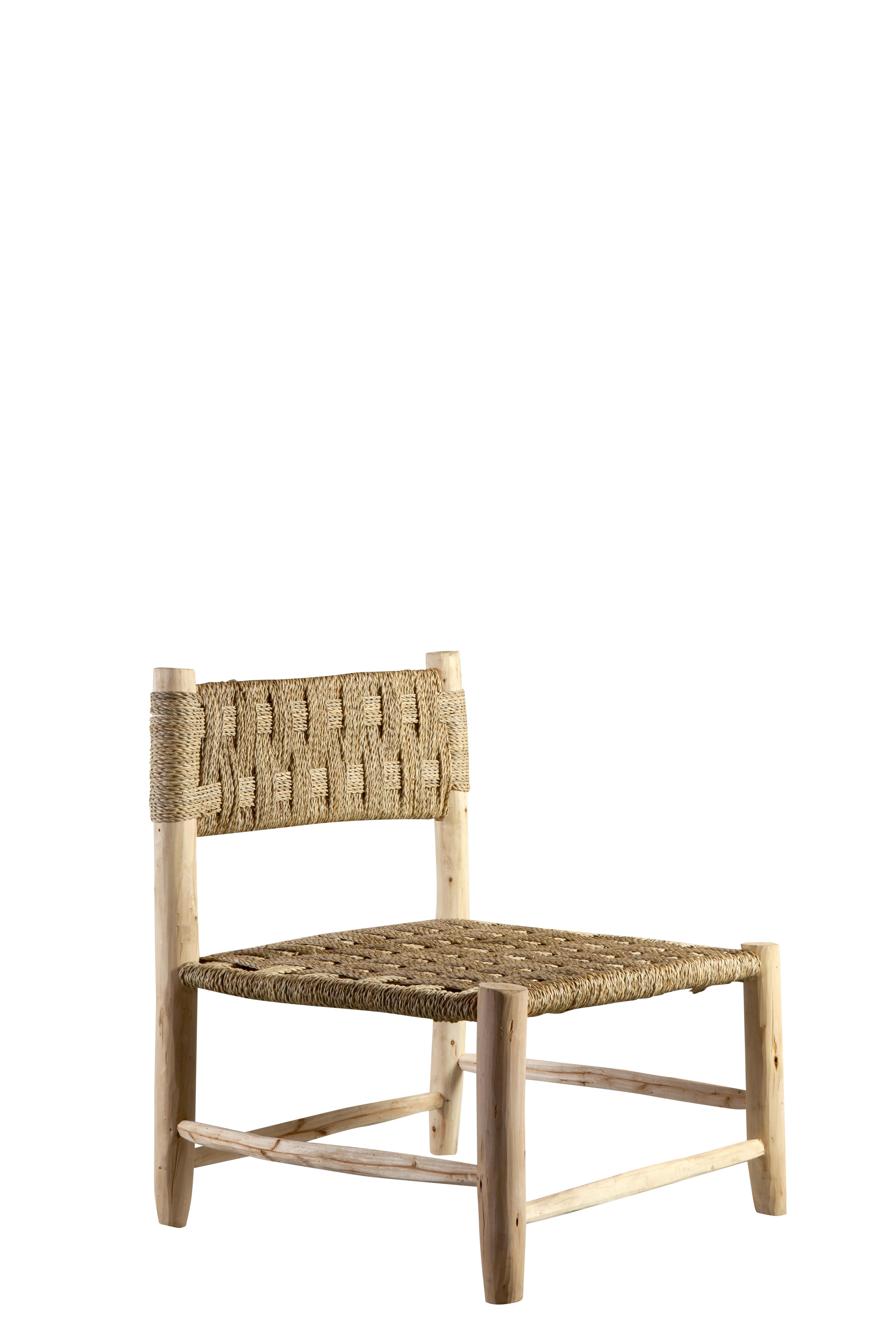 Chair in palm leaf wood 76bf7163a44b5