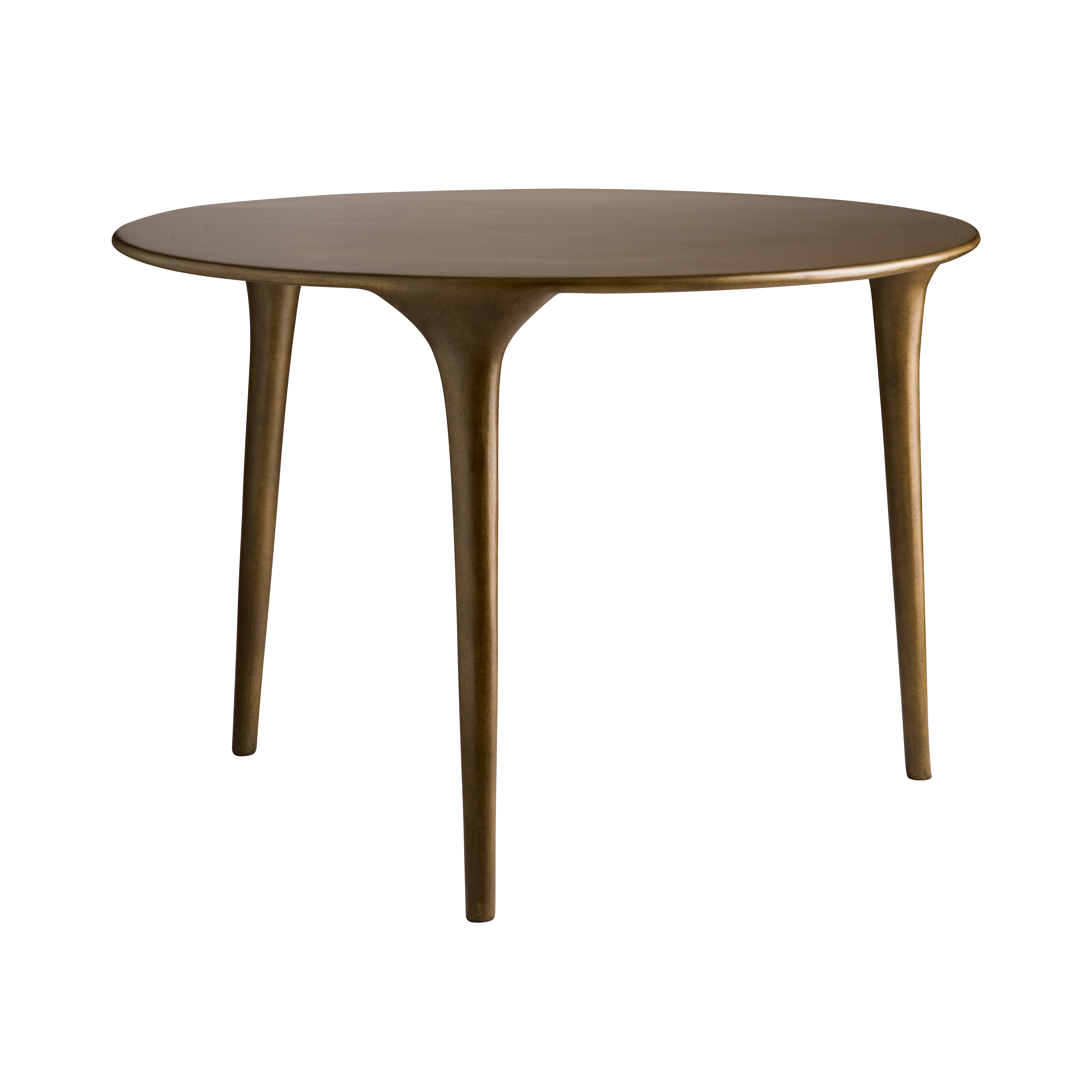 Three Legged Coffee Table Honey Glaze