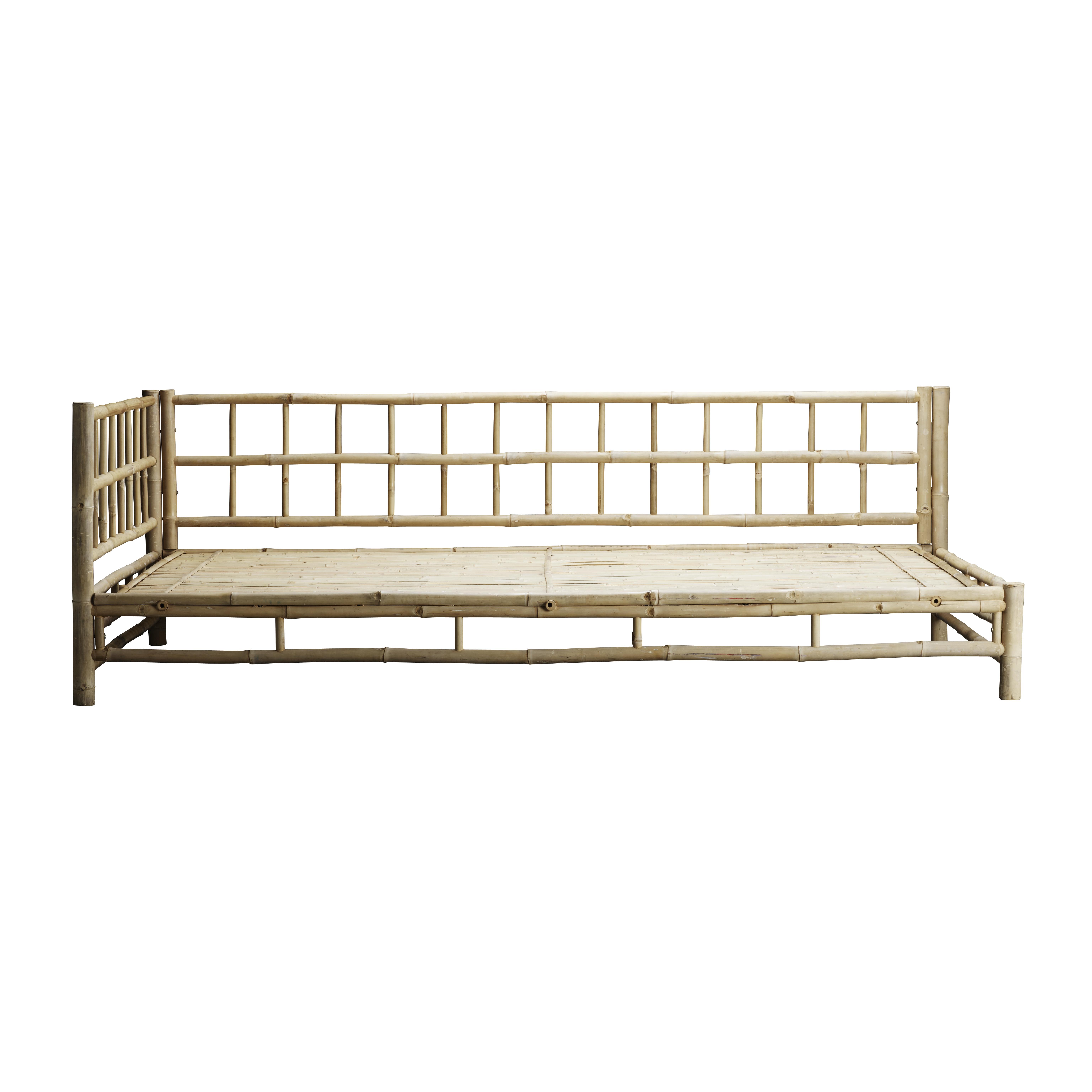bambus lounge seng venstrevendt produkter tine k home. Black Bedroom Furniture Sets. Home Design Ideas