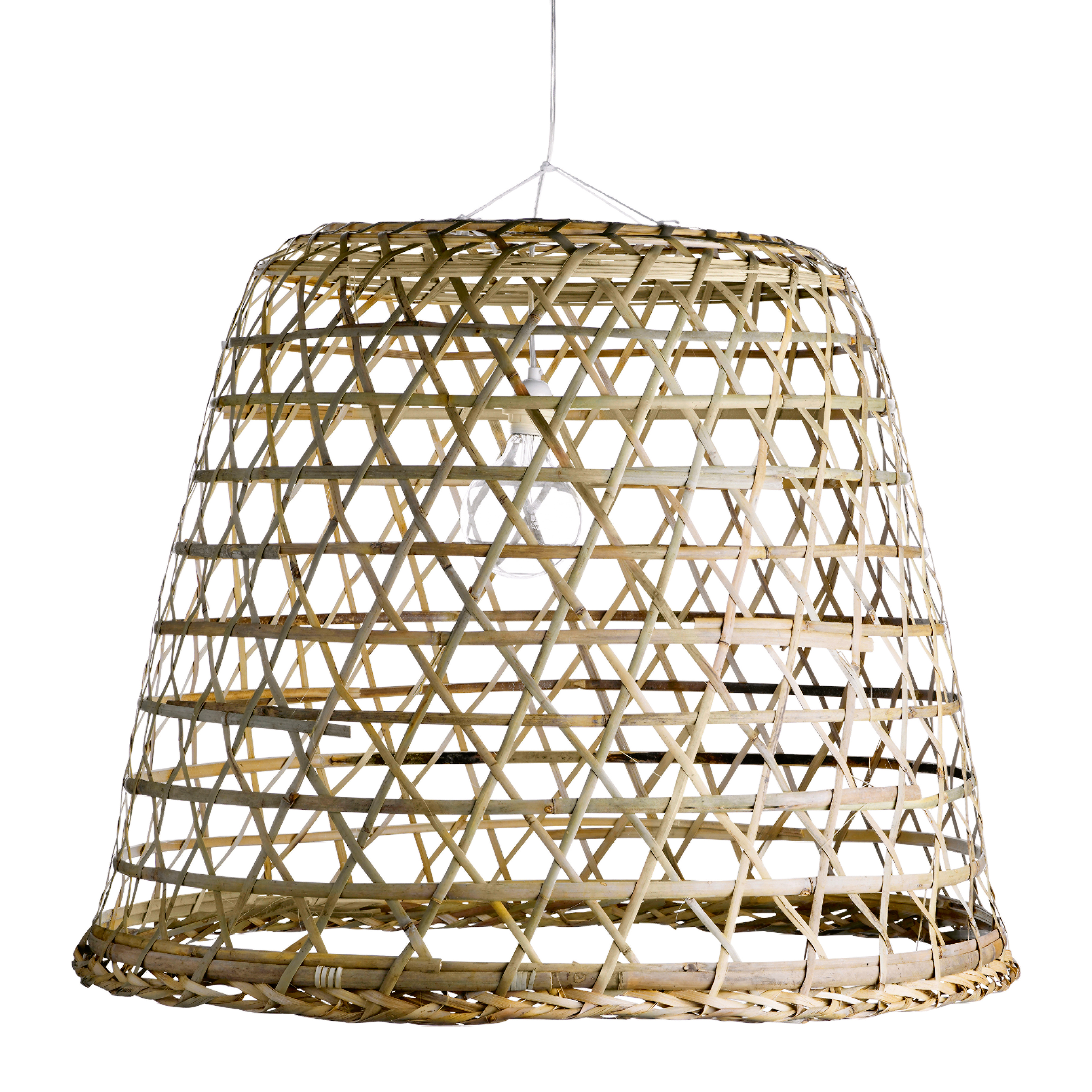 Lampshade Braided From Palm Leaves Products Tine K Home