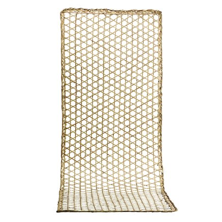 Deco item for wall, open woven, 100x300, natural