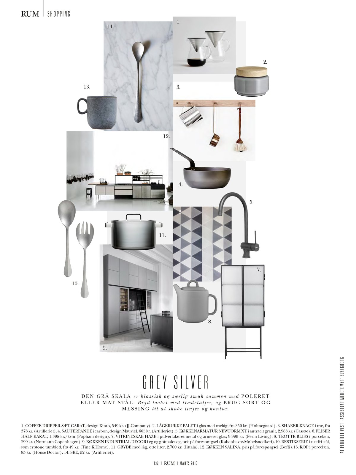 tinekhome CUT salad set in the Danish Interior magazine RUM