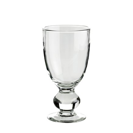 Glass for wine on foot, D8,5xH16, clear glass