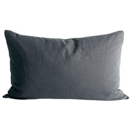 Cushion cover in linen, 50 x 75 cm, phantom