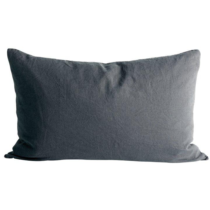 Cushion cover in linen, 50 x 75 cm, phantom
