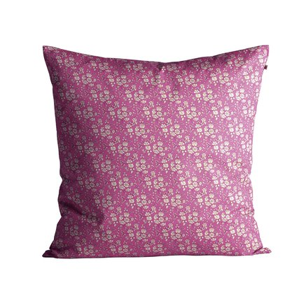 Cushion cover with small flowered Liberty pattern, 60 x 60 cm, pink