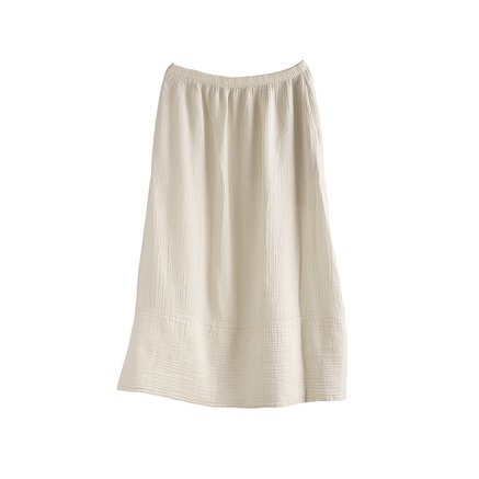 Skirt, woven cotton