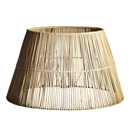 Lampshade in rattan, XL