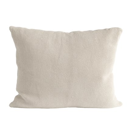 Cushion cover, 50 x 60 cm, cotton, sand