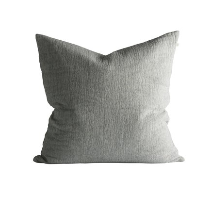 Cushion cover, 60 x 60 cm, cotton/wool, grey