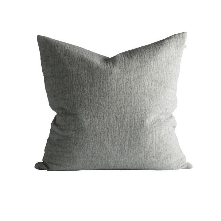 pudebetræk 60x60 Pudebetræk, 60 x 60 cm, bomuld/uld, grå | Produkter | Tine K Home pudebetræk 60x60