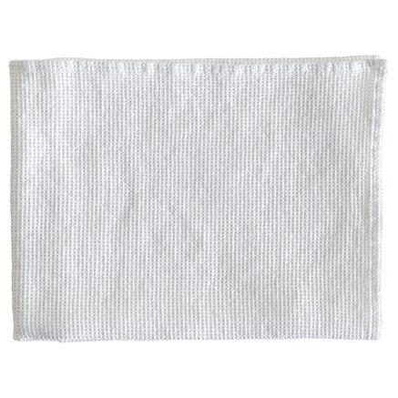 Dishtowel, 60 x 80 cm, cotton/ linen, white