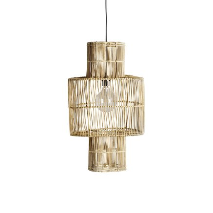 Lampshade in rattan, D38xH70, natural