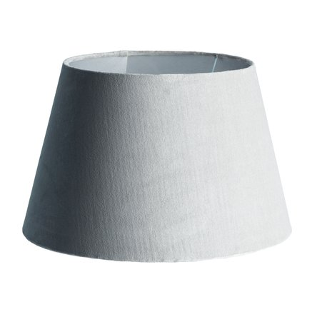 Lamp shade, 40 x H 26 cm, velvet, cotton, kit
