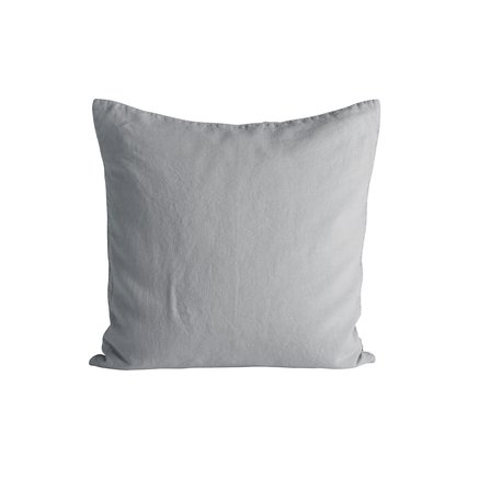 Cushion cover in linen, 50 x 50 cm, mist