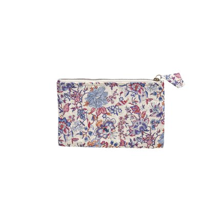 Clutch, S, 20xH12 cm, Liberty, cotton, flower