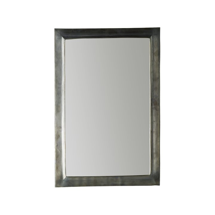 Handmade Mirror In Oxidized Brass 40 X, Black Framed Mirror 40 X 60