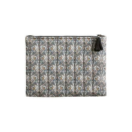 Clutch in Liberty fabric, medium