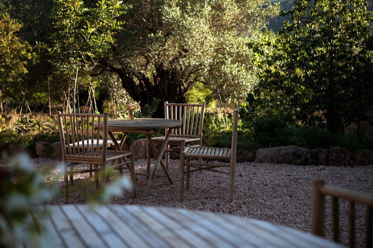 tinekhome furniture at Finca Can Marti Ibiza