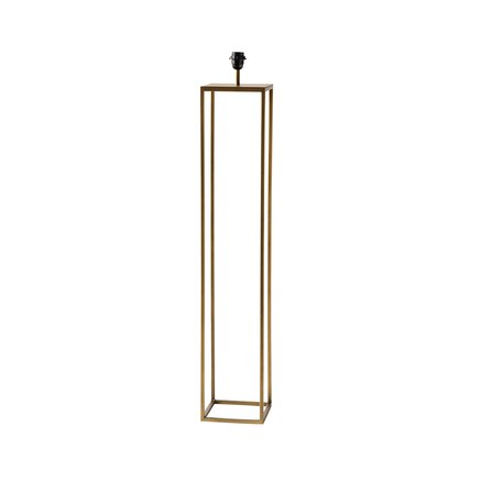 Floor lamp, E27 socket, 20x20xH105cm, honey gold