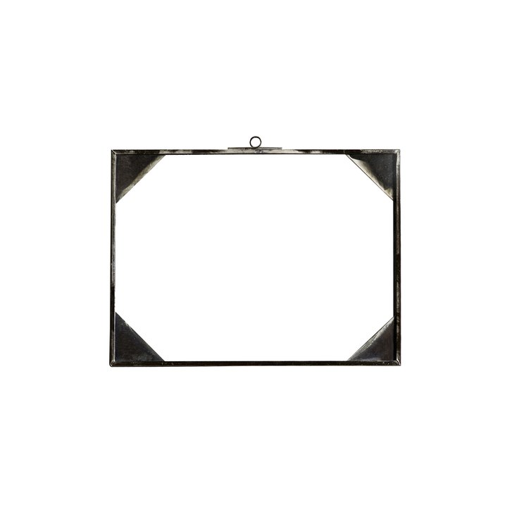 Simple glass frame, horizontal, 18x24, tin | Products | Tine K Home