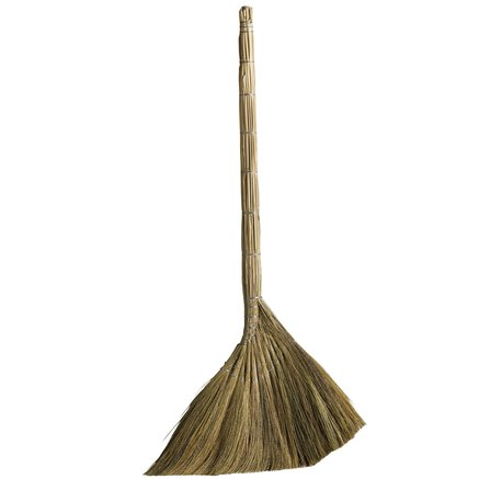 Broom of straw