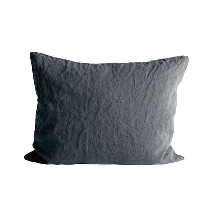 Cushion cover in linen, 50 x 60 cm, phantom
