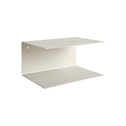 Metal shelf, 30x20xH15 cm, grey