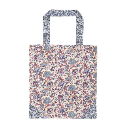 Liberty tote bag, 40xH45 cm, cotton, flower