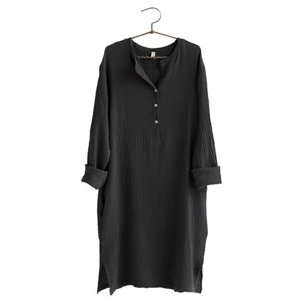 Dress, size 1 - S/M, cotton, phantom