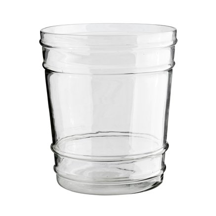 Pot in glass, D20xH23, L, clear