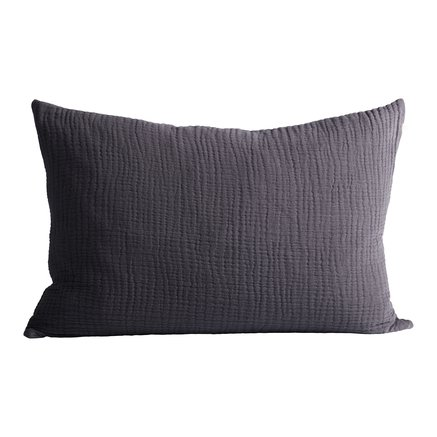 Cushion cover, 50 x 75 cm, 100% cotton, thunder