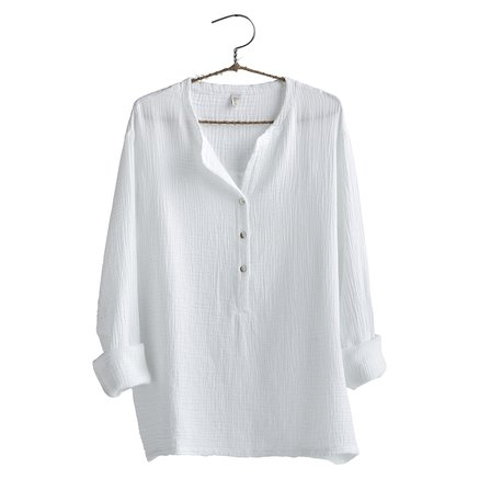 Shirt, size 1 - S/M, cotton, white