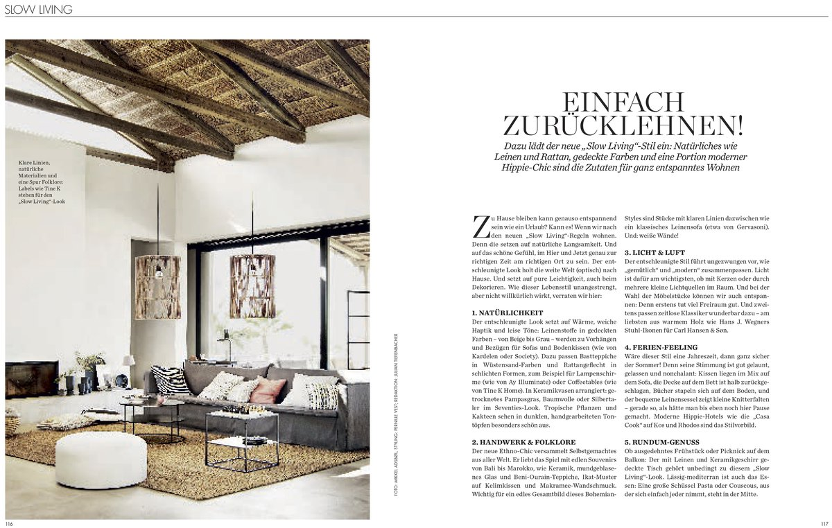 Julian Tiefenbacher  ELLE & ELLE DECORATION - tinekhome slow living - Casa Cook Kos