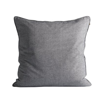 Cushion cover, 60 x 60 cm, brushed cotton, thunder
