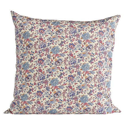 Liberty cushion cover, 60x60 cm,100% cotton,flower