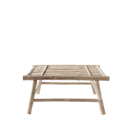 Bamboo lounge table