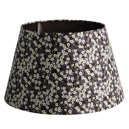 Lamp shade, Liberty, D 40 x H 26 cm, cotton, flo
