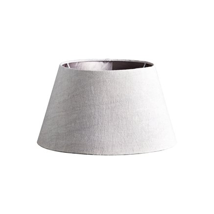 Lamp shade, kit linen, medium