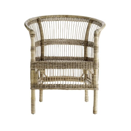 Palmachair in rattan