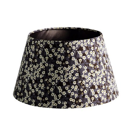 Lamp shade, Liberty, 40 x H 26 cm, cotton, flo