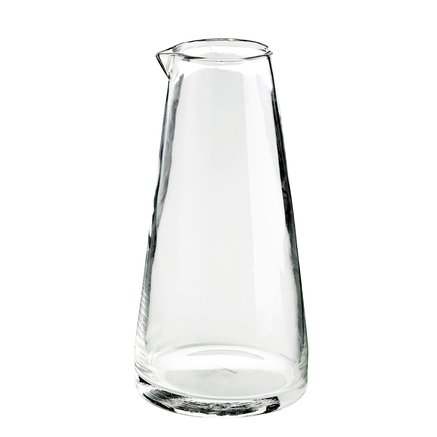 Water carafe in glass, large, D12xH24