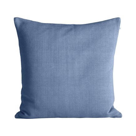 Thick woven cushion cover, 60 x 60 cm, baby blue