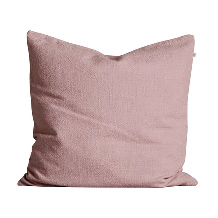 Cushion cover, 60x60, cotton, rose