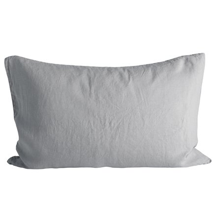 Cushion cover in linen, 50 x 75 cm, mist