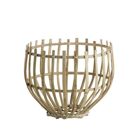 Round basket, D35xH32, natural