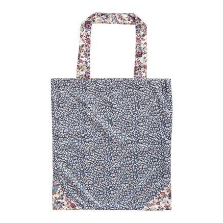 Liberty tote bag, 40xH45 cm, cotton, fields