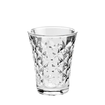 Facet glass for candle, H10, clear